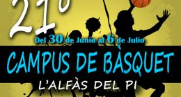 21º CAMPUS DE BÀSQUET L'ALFÀS